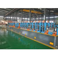 China Carbon Steel Tube Mill Machine For High Frequency Straight Seam Welded Pipe on sale