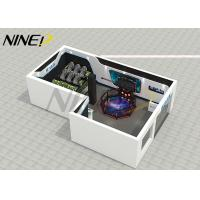Buy cheap Fiber Glass Virtual Reality Theme Park / Center Platform 9D VR Room Fighting from wholesalers