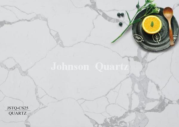 Quality Gloss Quartz Stone Countertops / Wall-Covering / Vanity Top Quartz Stone Tiles for sale