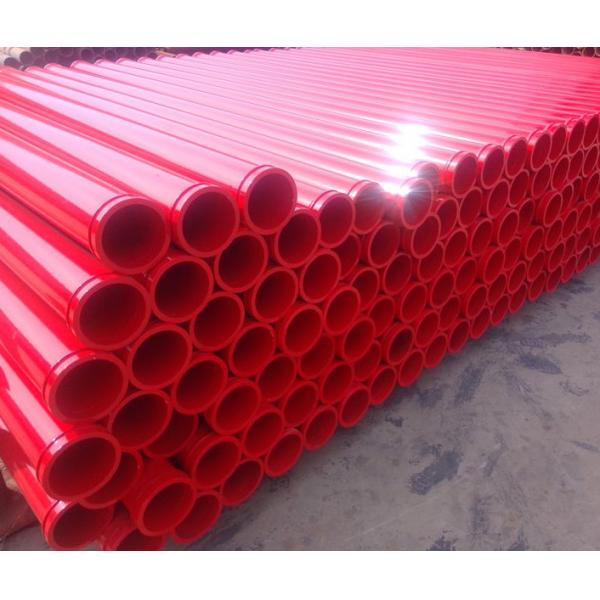 Quality 3m concrete placement hose with SK / FM / ZX / HD Flange for Schwing / PM / Zoomlion / Sany for sale