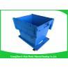 China cajas de almacenamiento plásticas grandes 60L con las tapas, contenedores plásticos con las tapas atadas wholesale
