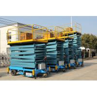 China SJY 1-9 1000 Kg Telescopic Aerial Work Platform for Stations, Public Buildings on sale