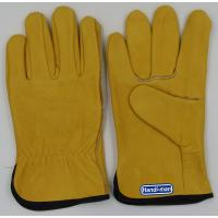 China 10 inch Cow Grain Leather Working Gloves wholesale