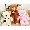 China Soft Animal Plush Toys New Scarf Cartoon Bear Doll Plush Toy For Girl Birthday Gift wholesale