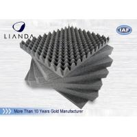 Egg Crate Pattern Industrial Soundproofing Foam Reduce Muddy Bass ROHS / SGS