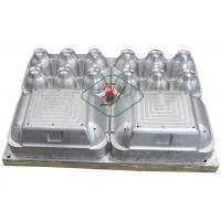 Aluminium Egg Box / Clam Shell Dies 6 Cavities Pulp Mould with High Precision