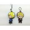China Phone accessories pendant custom phone decoration pendants supply with cartoon figures anime figure shape wholesale