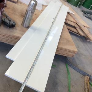 Fine Grain White Quartz Kitchen Countertops Marble Look Kitchen Worktops