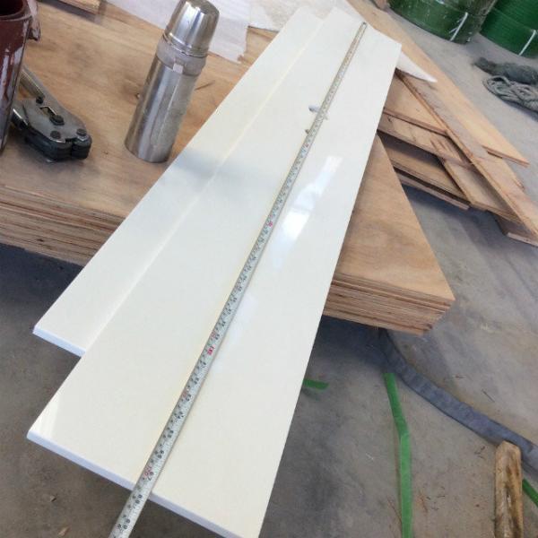 Quality Fine Grain White Quartz Kitchen Countertops Marble Look Kitchen Worktops for sale