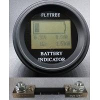 100V100A Round Coulometer lithium LiFePO4 battery real capacity LCD electric parameter meter coulomb with external shune