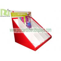 Header phone cardboard display stand point of purchase displays cardboard displays ENCD006