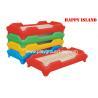 China Kindergarten Classroom Children Bed Furniture Plastic / Wood Bed Preschool  Day Care wholesale