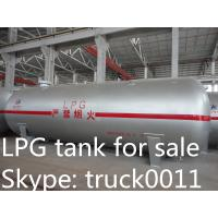 China factory sale ASME stnadard CLW brand 5,000L-120,000L bullet type surface Liquefied petroleum gas storage tank for sale wholesale