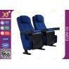 China Tela azul que descansa detrás muebles del asiento del teatro del auditorio para el cine wholesale