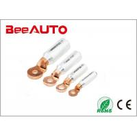 China High Conductivity Aluminium Copper Tube Terminals Bimetallic Cable Lug Terminals on sale
