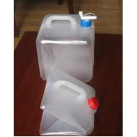 China 10L 20L Foldable LDPE Jerry Can, Collapsible LDPE Cubitainers For Medical wholesale