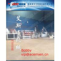 China Glazed Tile Roof Panel Making Machine / Plastic Roof Tile Extrusion Line with 880mm / 1040mm width wholesale