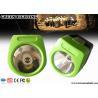 China Lámparas de casquillo sin cuerda de la explotación minera de 6000 lux, faro recargable de 230mA 110 Lum llevado wholesale