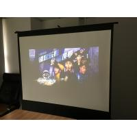 China Home Wide Cinema 16/9 Video Pull Down Projection Screen Matte White wholesale
