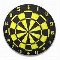 China Flocked Dart Board, Printed Number, Measures 18 x 1-1/2-inch wholesale
