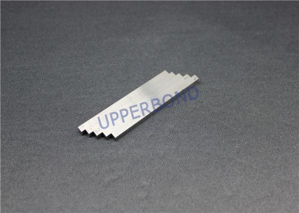 Quality Cigarette Maker 8 Tipping Paper Cutting Blade / Square Blade Long Knife Wearing Parts for sale