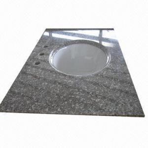 China Granite Countertop/Vanity Top with Ceramic Sink wholesale