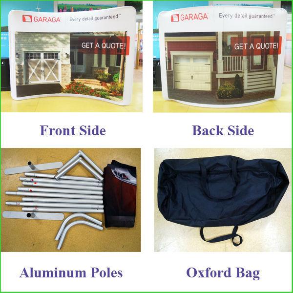 Tension Fabric Display backdrop ,Portable booth Trade Show Wall,Custom backdrop display