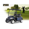 China Темно-синая тележка гольфа человека 48В 2, моторизованное шасси алюминия тележек гольфа wholesale
