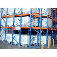 China Roll Forming Food Companies Drive In Storage Warehouse Racking Shelves wholesale