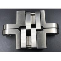 High Security Stainless Steel Concealed Hinges For Solid Wood Swing Door