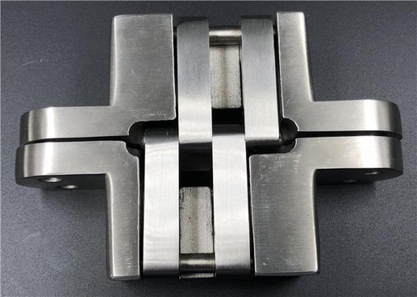 Quality High Security Stainless Steel Concealed Hinges For Solid Wood Swing Door for sale