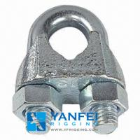 China DIN741 Steel Wire Rope Clip on sale