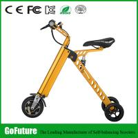 China Street Legal Three Wheel Electric Scooter Stable Current Two Solid Tire wholesale