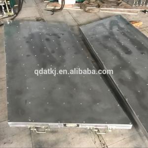 China Aluminum Alloy 7kw / ㎡ Heated Hydraulic Press , Almex Type Heated Platen Press on sale