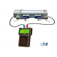 China Durable Portable Ultrasonic Flow Meter , Ultrasonic Water Meter ABS Housing Material on sale