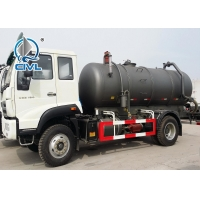 China 4X2 Sinotruk HOWO Sewage Suction Truck Cleaning Trucks with High Pressure Cleaning and Waste Water Suction Tank wholesale