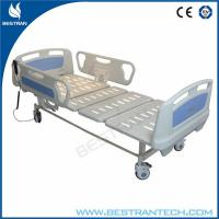 China ABS Side Rails ICU Electric Hospital Beds Two Functions Hospital ICU Room Use wholesale