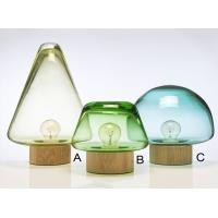 China Modern Forest Mushroom Table Lamps Clear Glass Skog Lamps For Decorative wholesale