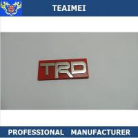 China 3D Colorful Custom Auto Emblems Badges With ABS Platstic Sticker Decoration wholesale