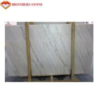 China Custom Size White Marble Stone Flooring With 11.5Mpa Bending Resistance on sale