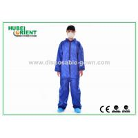 Nonwoven Flame Retardant Disposable Coveralls For Asbestos Removal