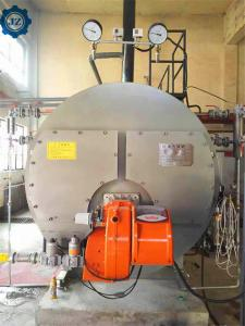 China Intelligent Digital Control Industrial Oil/Gas Fired Steam Boiler For Heat Supplying wholesale
