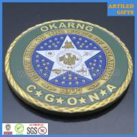 Camp Gruber Training Site Command Great Seal of The State of Oklahoma coin 5