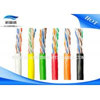 China Network Ethernet LAN Cable 150m 500ft 0.56mm UTP CABLE Cat6 IEC 60794 Black on sale