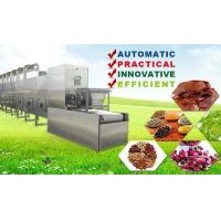 China Tunnel Stainless Steel Microwave Drying Equipment Tea Leaf Drying Machine on sale