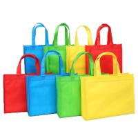 China Folding Reusable Grocery Bags Collapsible Tote Bag Nonwoven Easy Carry wholesale