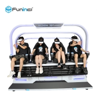 Buy cheap Motion Cinema 9D VR Chair 4 Seats Electric System 7D Theater 5D Game Machine from wholesalers