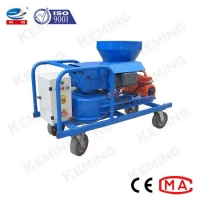 China 4kw 10m Spraying Mortar Cement Plastering Machine With Air Compressor wholesale