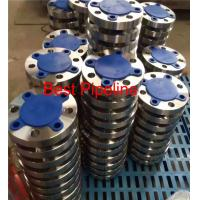 China ASME B16.47 Large Diameter Forged Weld Neck Flange  Blind Class 300 Series A 2ASTM A 105 on sale