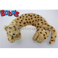 China Home Products Plush Stuffed Lorpard Animal U Shape Microwave Heated Neck Pillows wholesale